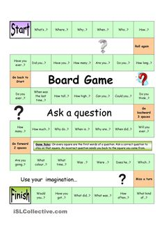 Board Game - Ask a Question (Easy)