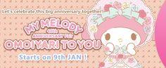 My Melody 40th Anniversary Fair<br>OMOIYARI TO YOU