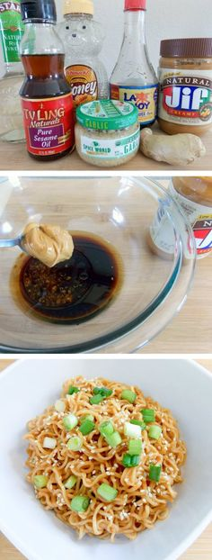 You only need a few ingredients and 10 minutes to make these delicious Sesame Peanut Butter Noodles. A culinary treat!