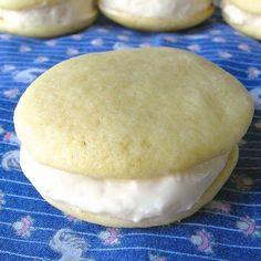 double vanilla whoopie pies