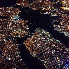 Manhattan from above. Photo courtesy of jnasa on Instagram.