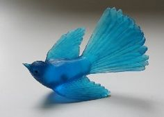 Cast glass birds (that can be screw onto walls etc) | Luke Jacomb / Kate Rutecki