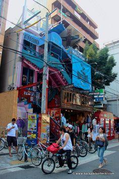 Amerikamura, Osaka, Japan