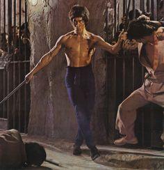 Bruce Lee Fighting | Bruce Lee Enter the Dragon