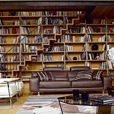 Летняя домашняя библиотека, окруженная великолепным видом