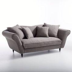 Canapé LIPSTICK pur coton - non convertible / La Redoute