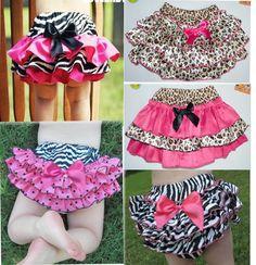 Hot pink ruffle panties