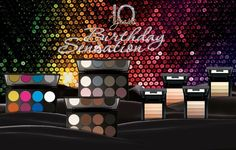 #Make up #Factory #Birthday #Sensation #Collection #Summer #2015