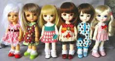 Latest Lati Yellow Bebes Line Up by ♥ Elly Jelly ♥, via Flickr