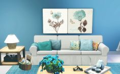 Via Sims: Blue Painting - The Sims 3
