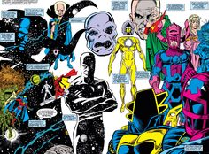Astral Deities of the Marvel Universe
