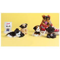 Pom Pom puppies Pom Pom Puppies, Pom Dog, Pom Pom Maker, Most Popular Dog Breeds, Pom Pom Crafts, Fluffy Dogs, Dog Crafts, Ribbon Bows, Lana