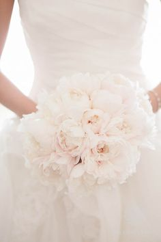 Peonie Wedding Flower Bouquet