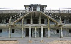 This was one of my favorite places to visit when we lived in WA.  Fort Worden State Park.  Not only a great old military fort to climb around, but also where Officer and A Gentleman was filmed.