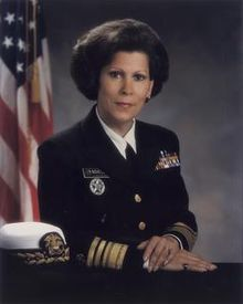 Antonia Novello, M.D. (b. Aug. 23,  1944 in Puerto Rico) is a physician and public health administrator. She was a vice admiral in the Public Health Services Commissioned Corps and served as 14th Surgeon General of the US from 1990 to 1993. She is the first woman and first hispanic to serve as Surgeon General. Novello also served as Commissioner of Health for State of New York from 1999 to 2006.