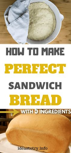 How To Make Perfect Sandwich Bread! Tart, Nutrition, Group Boards, Smoothies, Weight Loss, Cooking, Healthy, Foods, Desserts