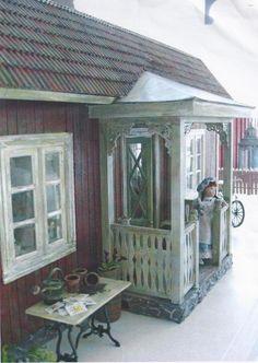 A lovely Swedish dollhouse