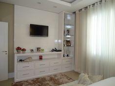 rack de tv com cristaleira - Pesquisa Google