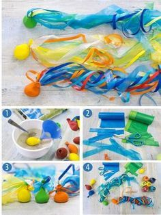 Fluttering slingshot A great homemade toy for summer parties, z. Fluttering slingshot A great homemade toy for summer parties, z. For example, the children's birthday party in the garden. It is best to swing, throw and catch on a large meadow. Kids Crafts, Summer Crafts, Crafts To Do, Fall Crafts, Easter Crafts, Christmas Crafts, Homemade Toys, Puzzle Toys, Slingshot