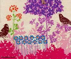 Echino Etsuko Furuya fabric - Google Search