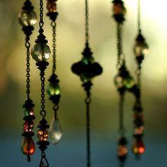 beads as windchime