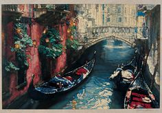 Chen Yifei's Venice Gallery | Chinese Oil Painting | China Online Museum
