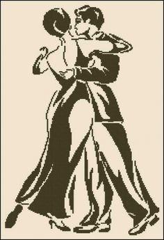 Черно-белая вышивка | Вышивка крестом