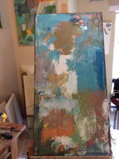 My studio! Art by Windy O'Connor
