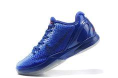 Nike Zoom Kobe VI Mens Basketball Shoes - Blue For $68.90 Go To:  http://www.cheapkobeshoesmall.com