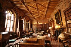 English Country House Libraries
