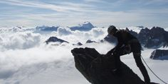 Mont Blanc - When you reach the top, you know it.