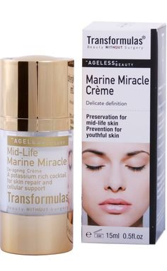 Transformulas Marine Miracle Cream, $69.00. Click photo to buy. Click Photo, Ageing, Anti Aging, Nail Polish, Cream, Beauty, Products, Coming Of Age