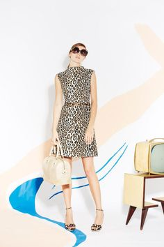 Alice and Olivia's New Spring 2013 Collection. Loving the leopard dress. Such an essential!