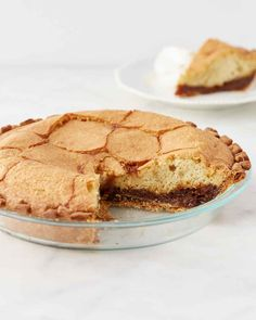 A Pennsylvania Dutch classic, this pie teams a buttery crust with a gooey molasses and lemon filling and a buttermilk cake topping. Martha made this recipe on episode 708 of Martha Bakes.