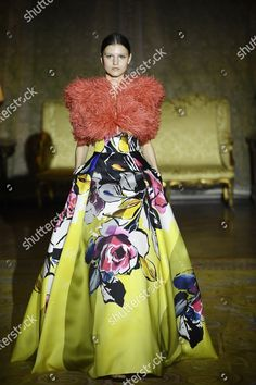 model presents creation by Spanish designer Isabel Editorial Stock Photo - Stock Image | Shutterstock
