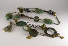 Lucite Found Object Necklace - Beading Daily