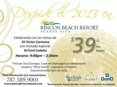 New Year's Eve Celebration @ Rincon Beach Resort Rincon Beach, Rincon Puerto Rico, New Year's Eve Celebrations, Beach Resorts, New Years Eve, Celebrities, Champagne Glasses, Parking Lot, Celebs