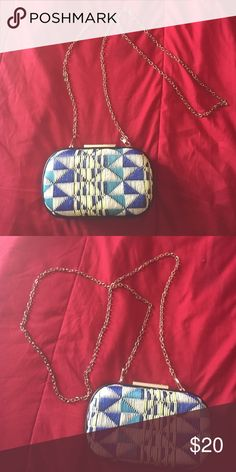 Clutch Colorful clutch. Very versatile and will match every outfit! NOT H&M! Listed as H&M exposure only! H&M Bags