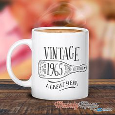 50th Birthday 1965 Birthday 50th Birthday Gift 50th by MainlyMugs