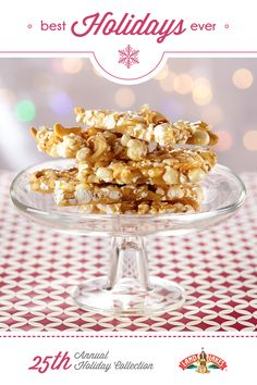 Part caramel corn, part brittle, this treat is perfect for your next holiday party.