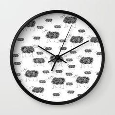 Wall-clocks with printing an artist work. Pendule, horloge avec impression d'une oeuvre de françoise Zia