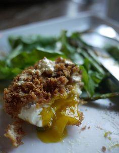 deep fried eggs benedict