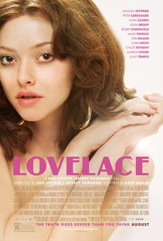 High resolution official theatrical movie poster ( of for Lovelace Image dimensions: 1500 x Starring Amanda Seyfried, Peter Sarsgaard, Hank Azaria, Adam Brody Amanda Seyfried, Streaming Movies, Hd Movies, Movies Online, Movies 2014, Netflix Online, Popular Movies, Latest Movies, Shia Labeouf