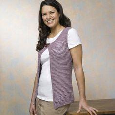 Valley Yarns Pattern #520 Michel Vest