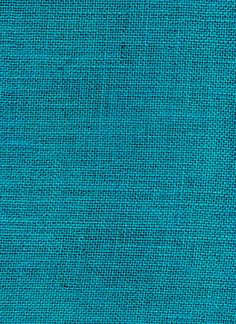 Turquoise Burlap I must have this in the family room