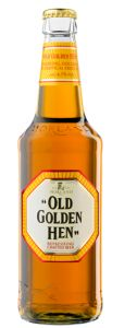 Cerveja Old Golden Hen, estilo Special/Premium Bitter, produzida por Greene King, Inglaterra. 4.1% ABV de álcool.
