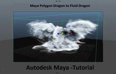 Maya Dragon Fluid  Tutorial