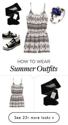 """""""Summer outfit 4"""" by adelineojeda on Polyvore featuring H&M and Gerbe"""