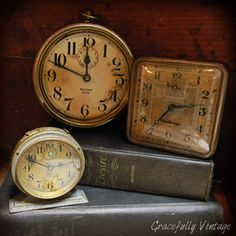 old clocks...have some like these of my parents.