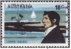 Early Australia Adventures - Australian States--Later white man explorers.